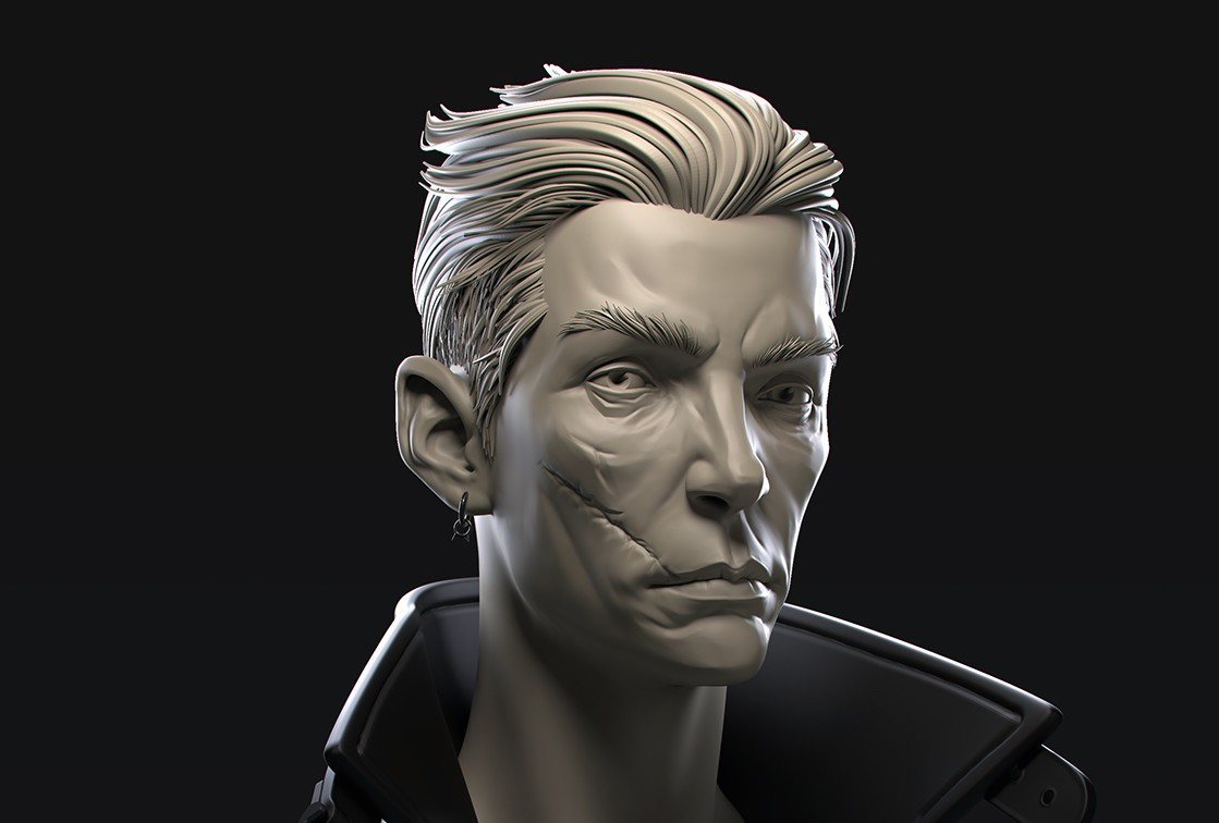 Video Tutorial Sculpting Hair In Zbrush With Zbrush On