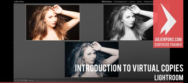 Free Lightroom tutorial : Introduction to virtual copies