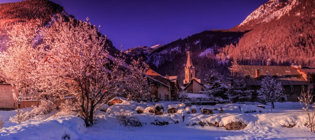 Winter Landscapes Photography tutorial