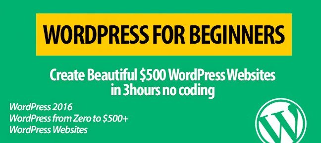 WordPress Beginners From Zero To Beautiful $500 Websites In 3 Hours tutorial