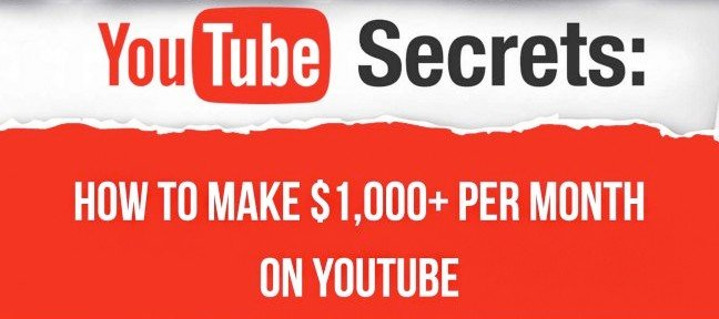 YouTube 10 Ways To Earn $1,000+ Per Month