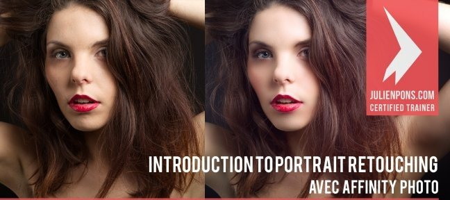 Video Tutorial Free Affinity Photo video tutorial - Introduction to Portrait Retouching Affinity Photo